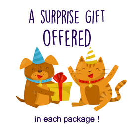 A gift surprise offered in each package !